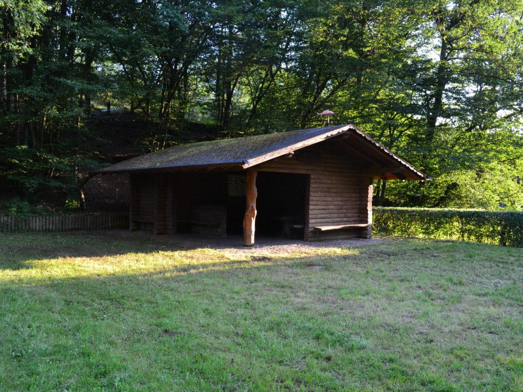 Weiherhütte am Stolzbachweiher